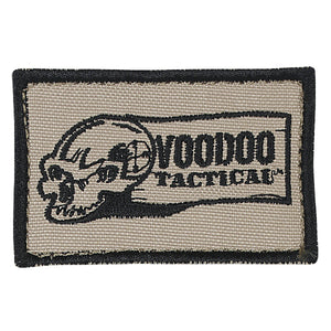 Voodoo Tactical Velcro Backed Embroidered Logo Morale Patch