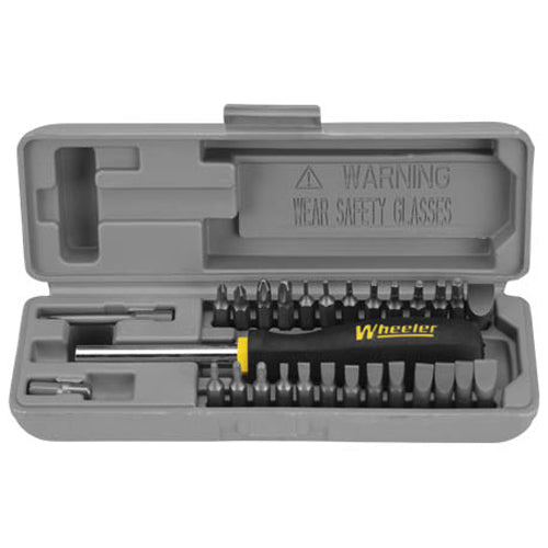 Wheeler 26 Piece Space-Saver Gunsmithing Screwdriver Set