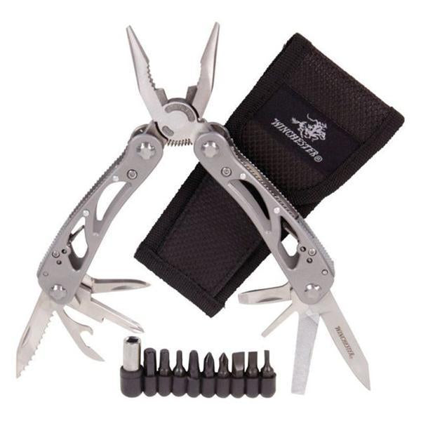Winchester WinFrame Multi-Tool With Tool Kit & Nylon Belt Sheath