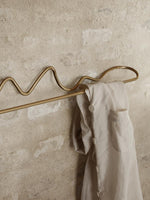 Ferm Living | Curvature Towel Hanger | Brass