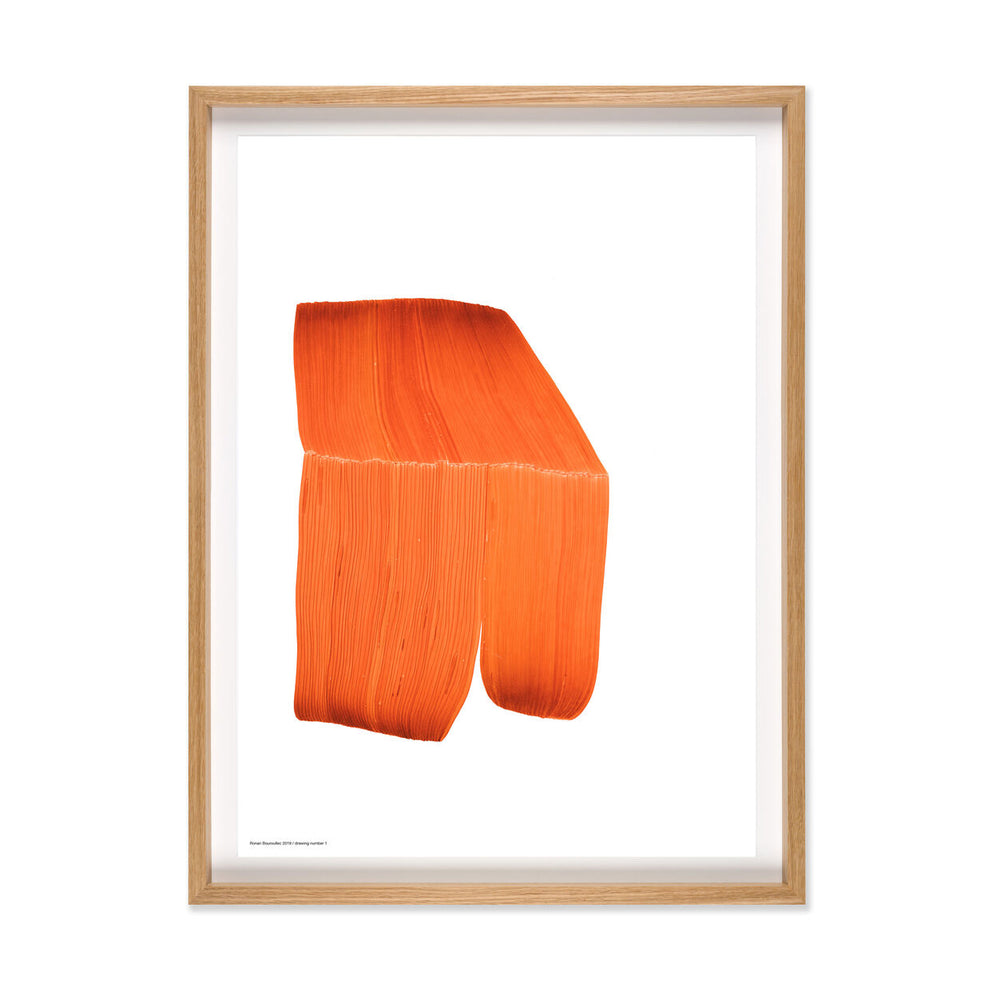 Ronan Bouroullec | Print with Bespoke Frame | Drawing 1