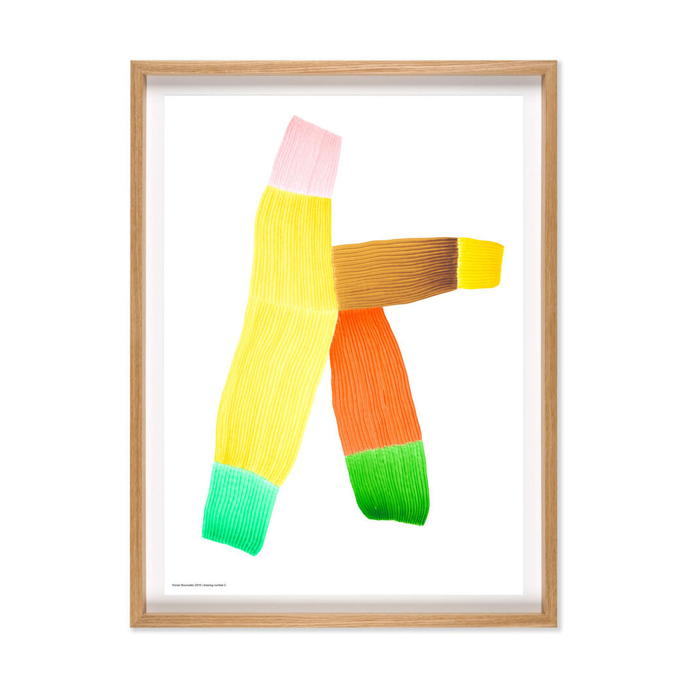 Ronan Bouroullec | Print with Bespoke Frame | Drawing 2