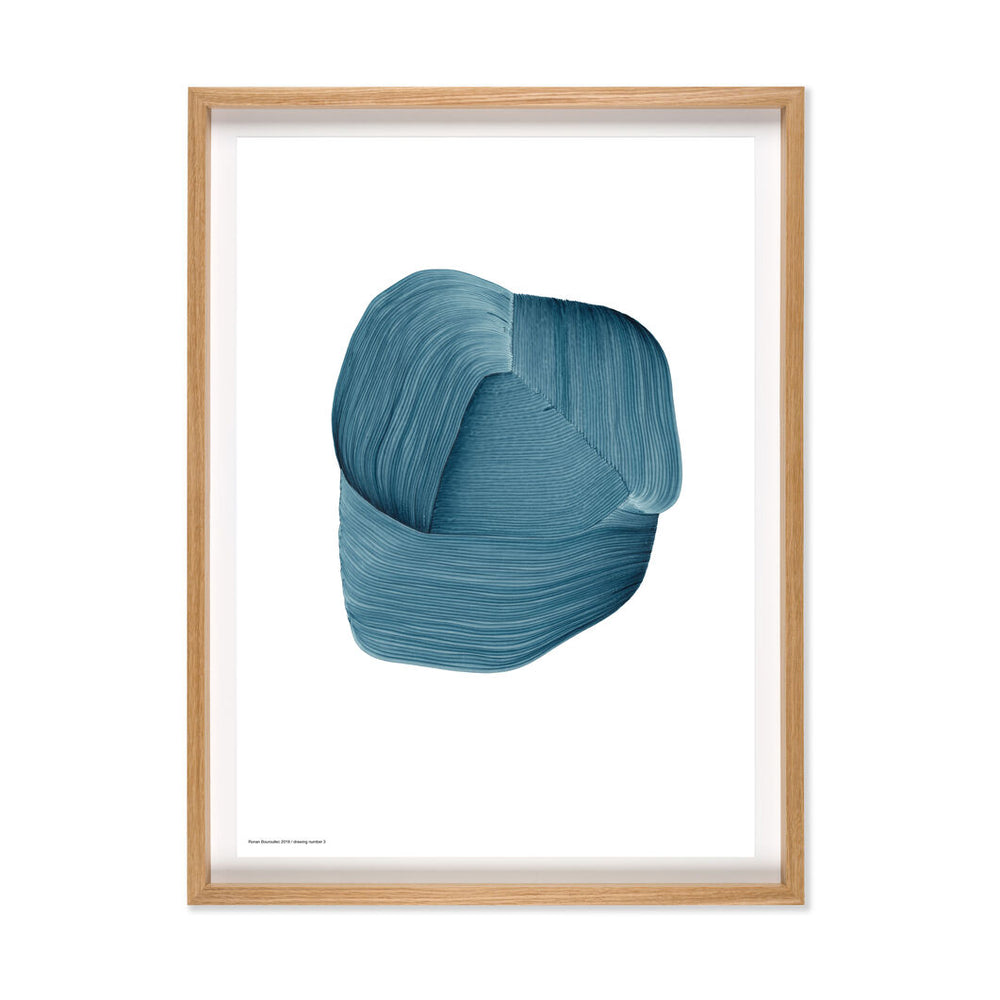 Ronan Bouroullec | Print with Bespoke Frame | Drawing 3