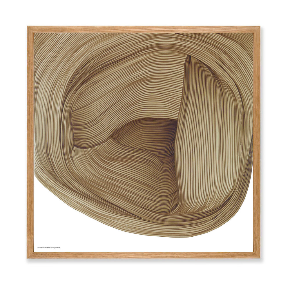 Ronan Bouroullec | Print with Bespoke Frame | Drawing 5