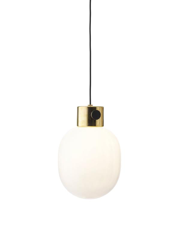Menu | JWDA Metallic Pendant Lamp | Brass