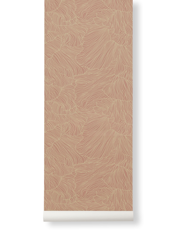 Ferm Living | Coral Wallpaper | Various Colours