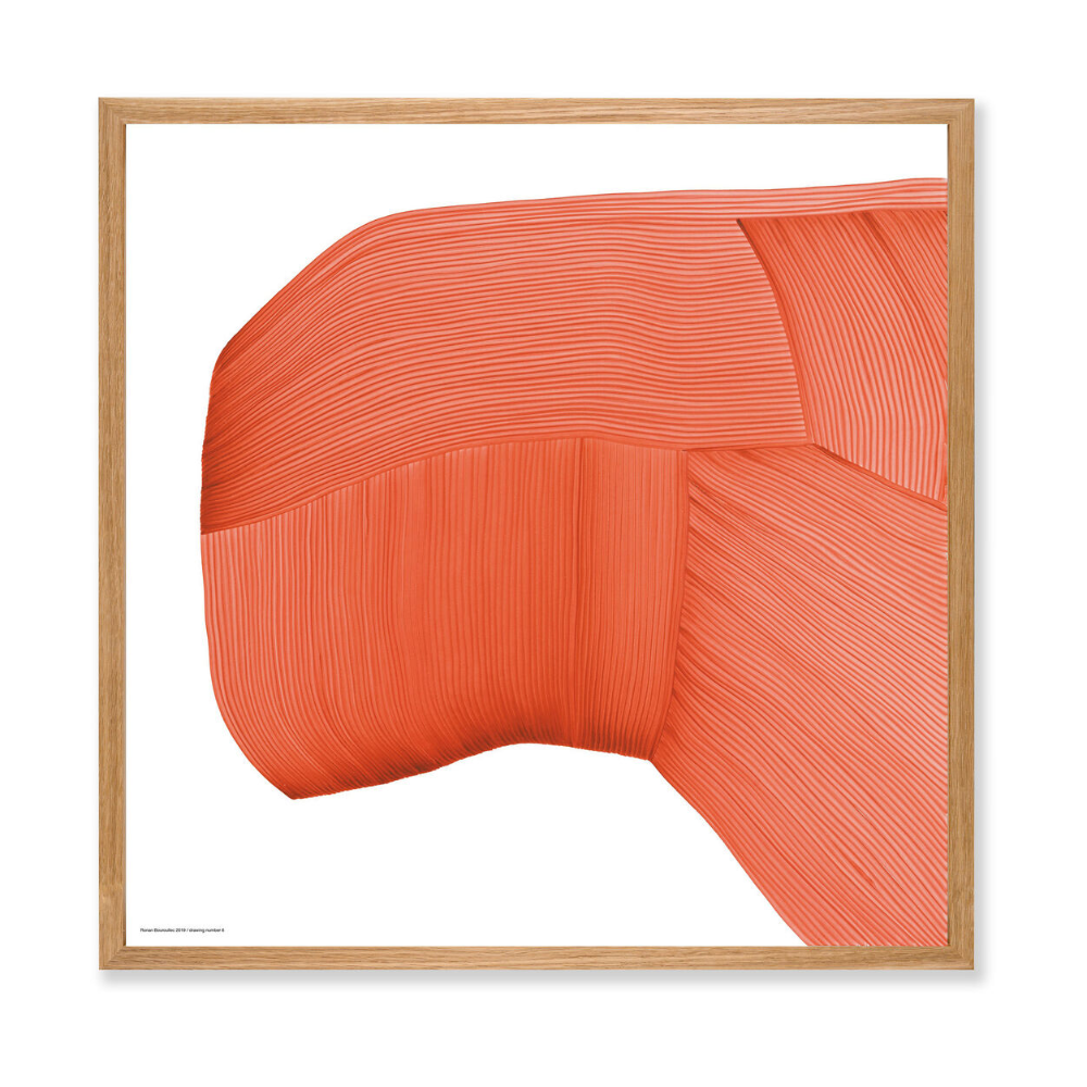 Ronan Bouroullec | Print with Bespoke Frame | Drawing 6