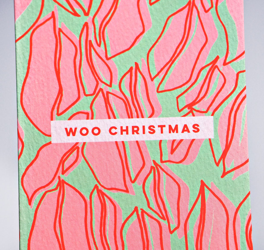 The Completist | Woo Christmas Lips | Premium Greetings Card
