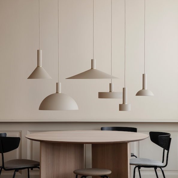 Ferm Living | Collect Record Shade | Cashmere