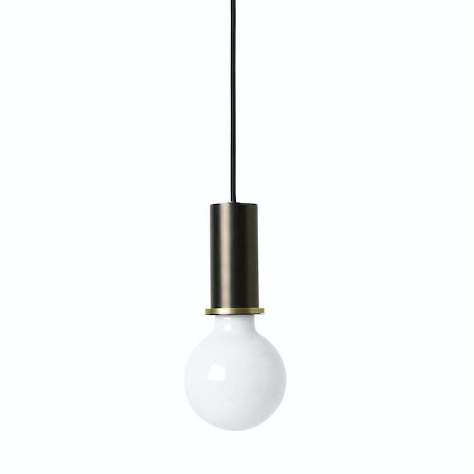 Ferm Living | Collect Socket Pendant Low | Plated Metal | Various Finishes