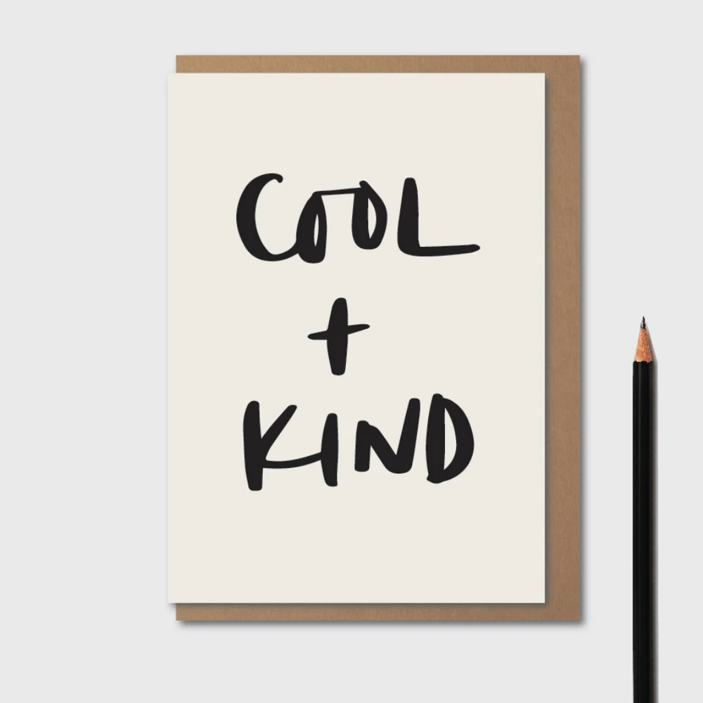 Kinshipped | Cool + Kind | Greetings Card