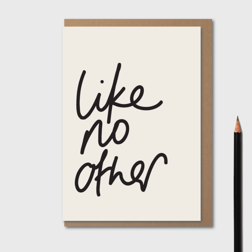 Kinshipped | Like No Other | Greetings Card