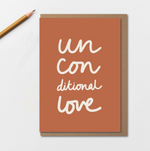 Kinshipped | Unconditional Love | Greetings Card