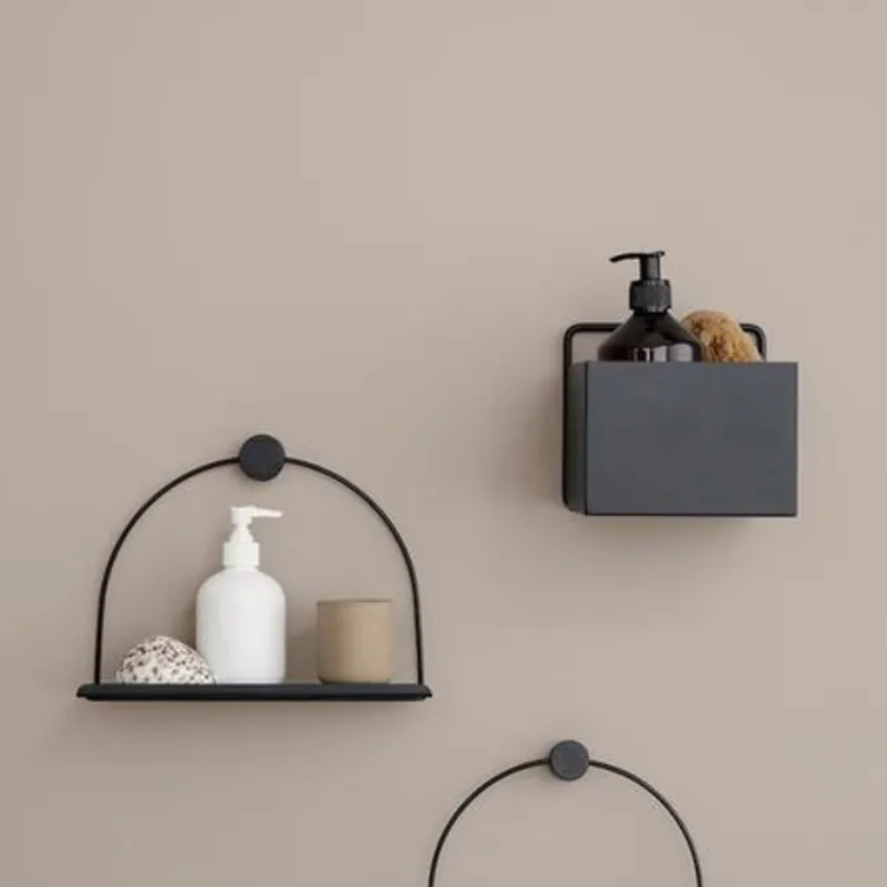 Ferm Living | Square Wall Box | Cashmere