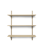 Ferm Living | Sector Shelf | Natural Oak and Brass