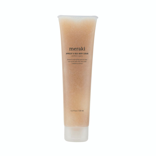 Meraki | Body Scrub | Apricot + Rice