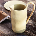 Ferm Living | Flow Jug | Yellow Speckle