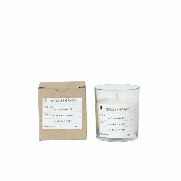 Broste Copenhagen | Soy Scented Candle | Neroli + Grape