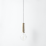 Ferm Living | Collect Socket Pendant High | Plated Metal | Available in Various Finishes