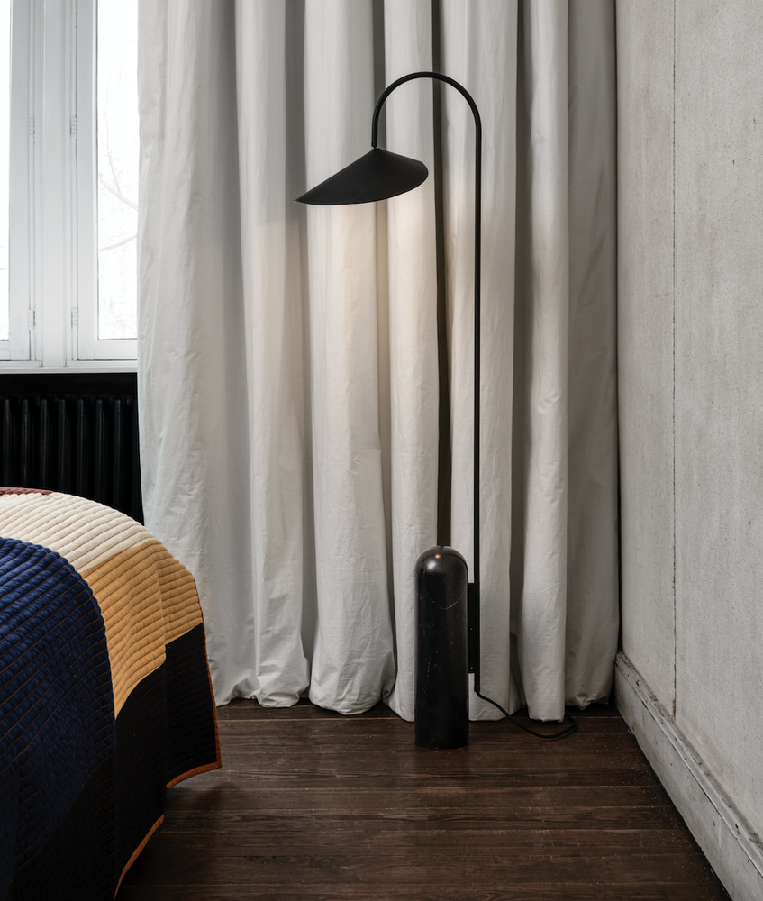 Ferm Living | Arum Floor Lamp | Black