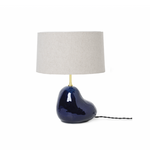 Ferm Living | Hebe Lamp Base | Deep Blue | Small