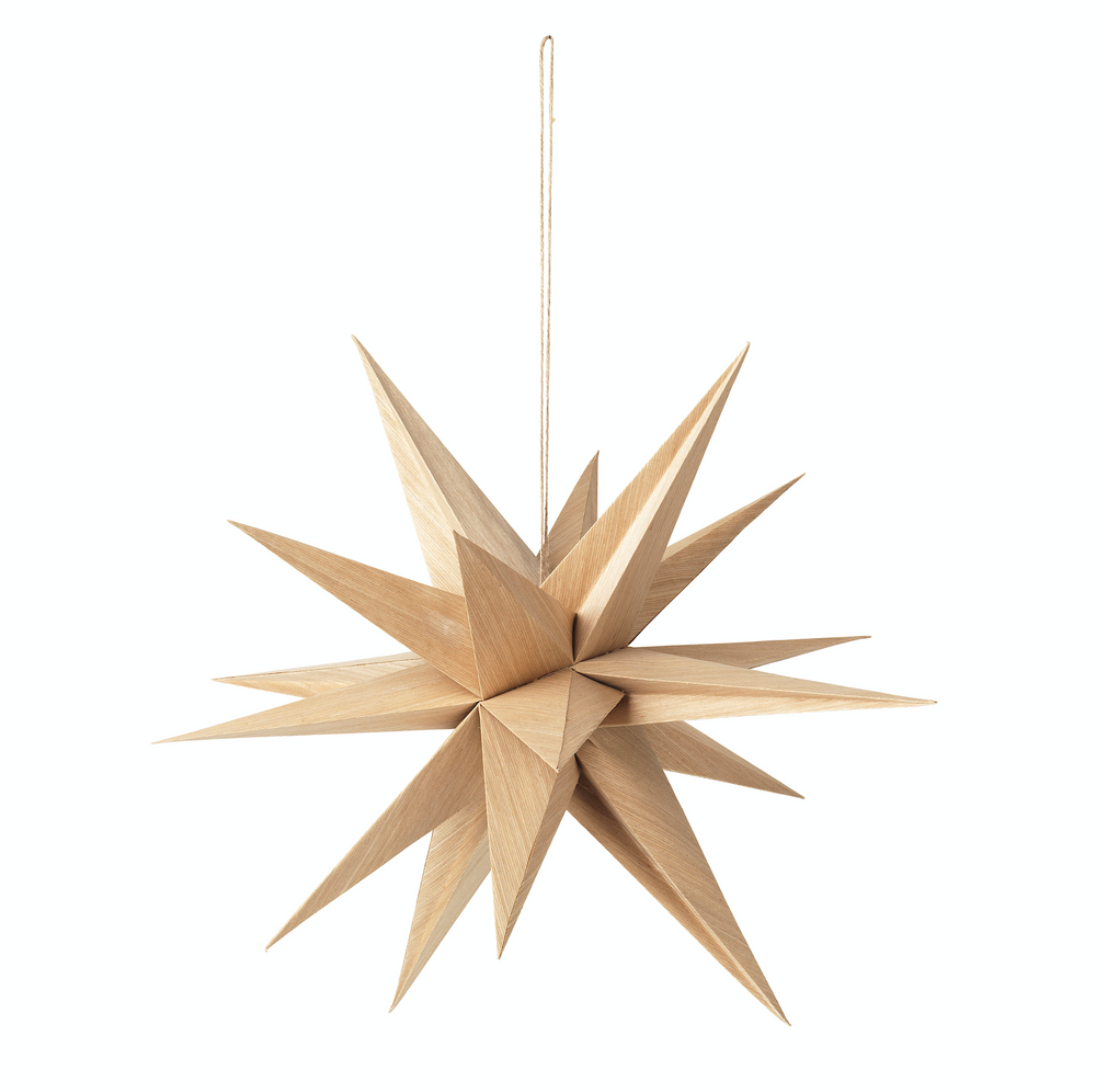 Broste Copenhagen | Deco Star Venus Wood | Natural