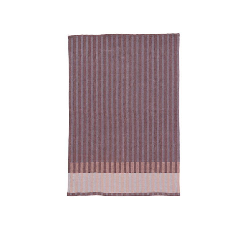 Ferm Living | Grain Tea Towel | Burgundy