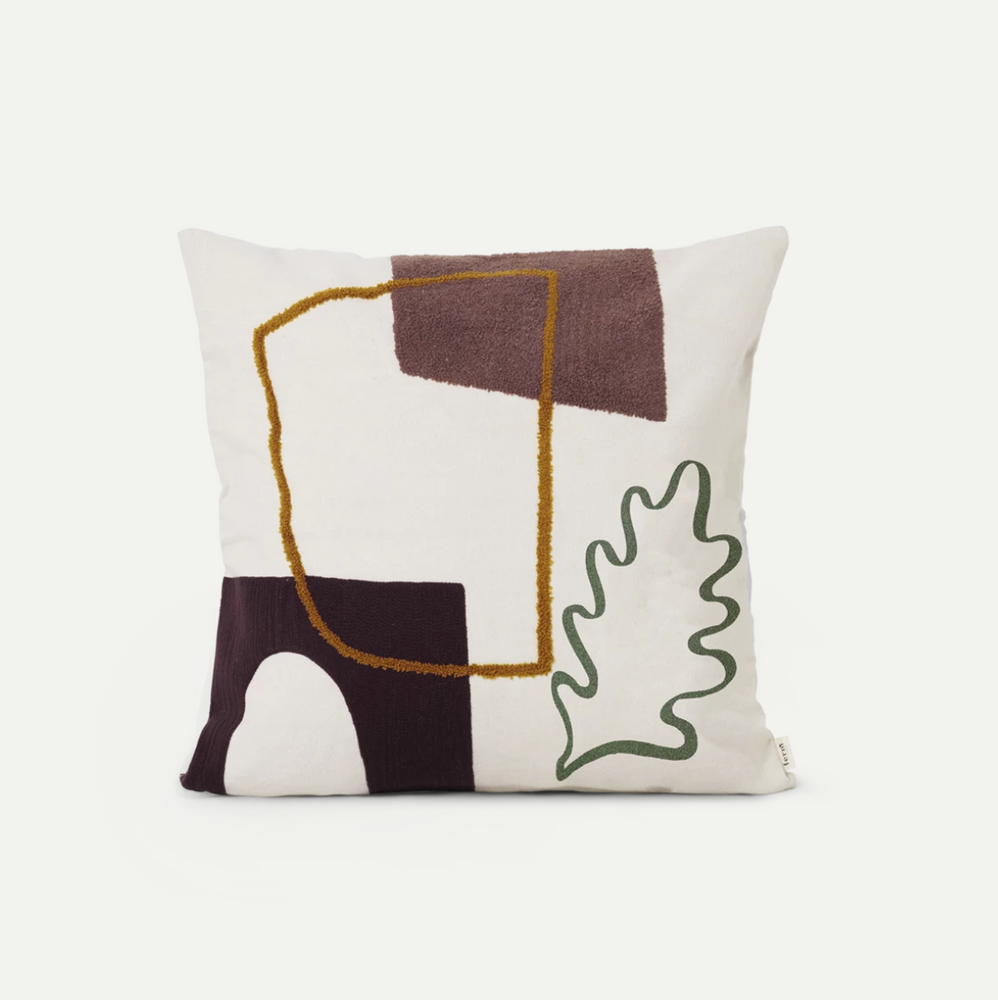 Ferm Living | Mirage Leaf Cushion
