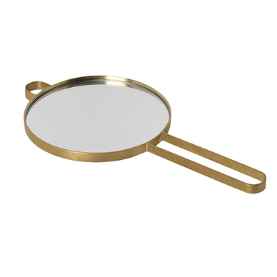Ferm Living | Poise Hand Mirror | Brass