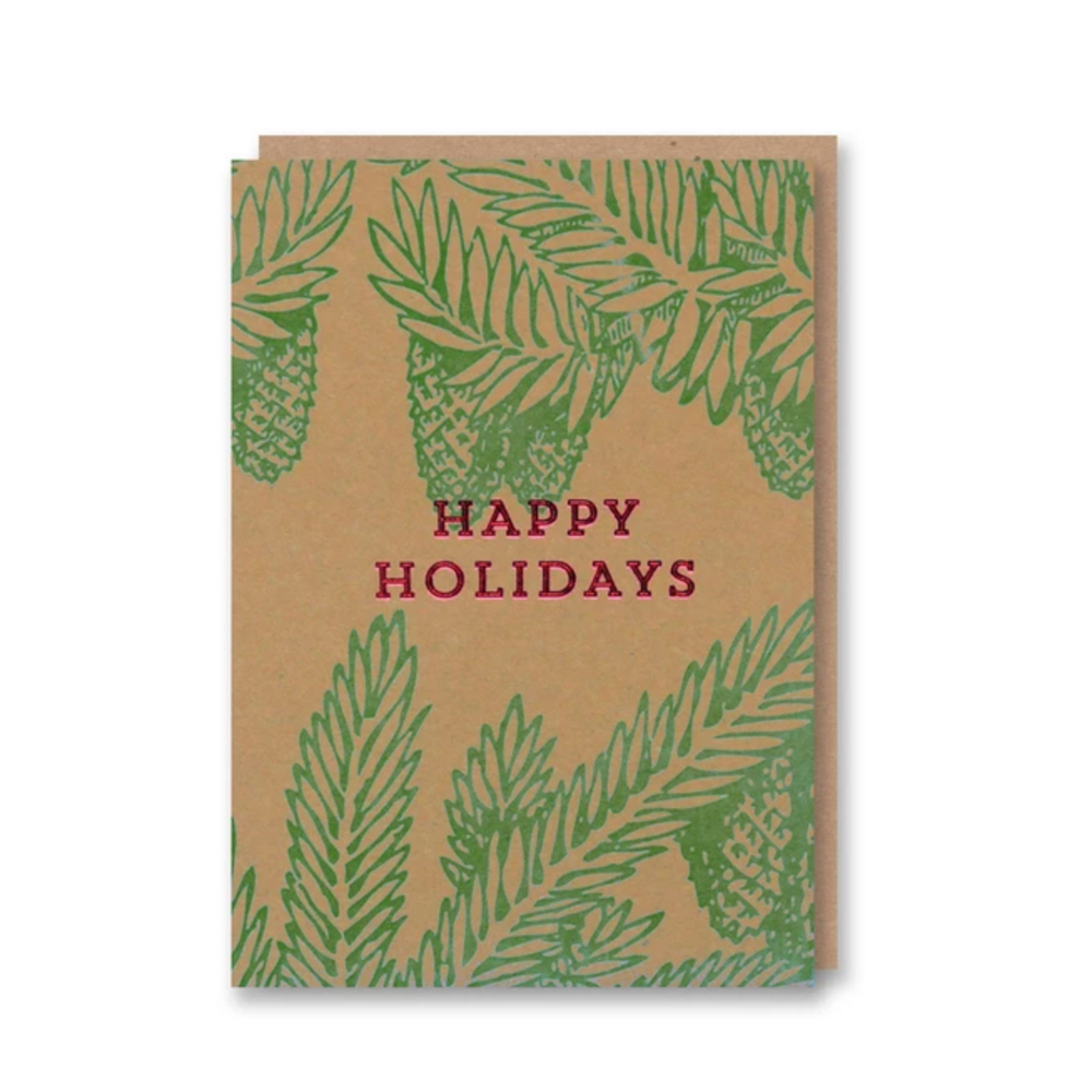 Nineteen Seventy Three | Happy Holidays | Letterpressed Card