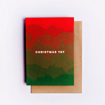 The Completist | Christmas Yay | Premium Greetings Card