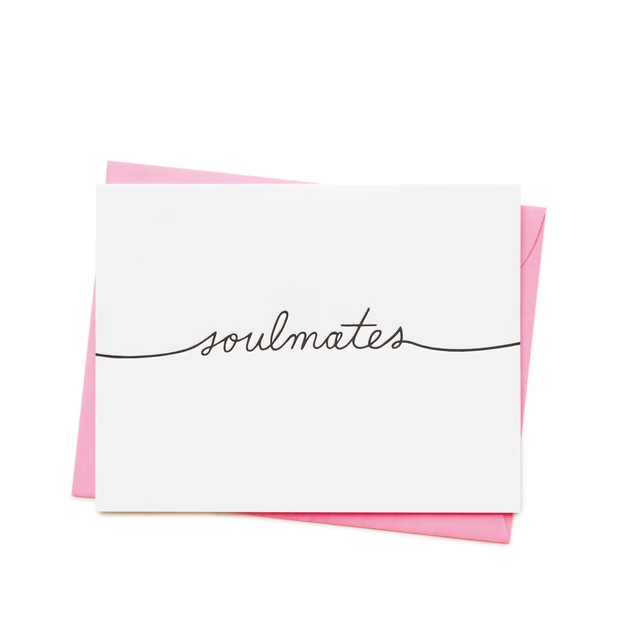 Nineteen Seventy Three | Soul Mates | Hand Printed Greetings Card