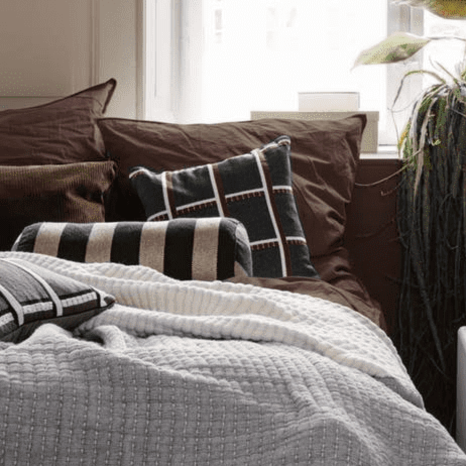 Ferm Living | Daze Bedspread | Grey