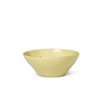 Ferm Living | Flow Bowl | Yellow Speckle