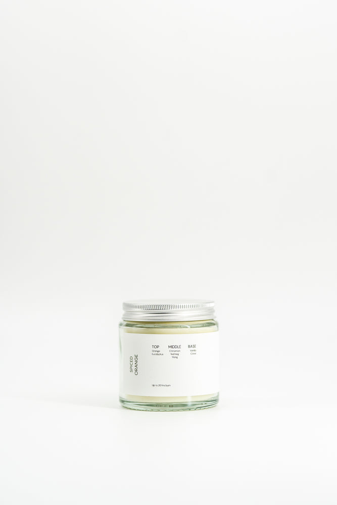 Soomish | Scented Soy Wax Candle | Spiced Orange | 120ML