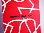 The Completist | Christmas Yay Shapes | Premium Greetings Card