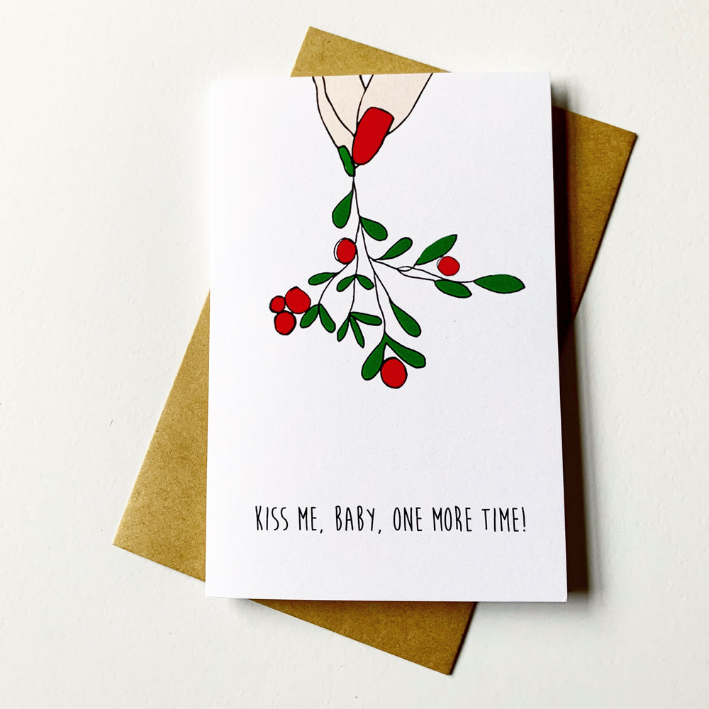 Nocturnal Paper | Mistletoe | Printed Greetings Card