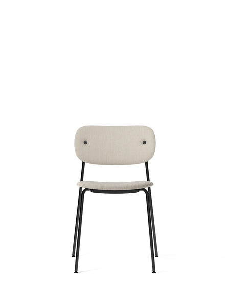 Menu | Co Chair | Fully Upholstered | Black Legs | Various Colours