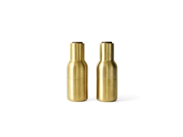 Menu | Bottle Grinder 2-Piece | Brass