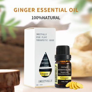 100% Pure Natural Ginger Essential Oil 0.33 OZ(10ml)