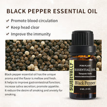 Load image into Gallery viewer, 100% Pure Natural Black Pepper Essential Oil 0.33 OZ(10ml)