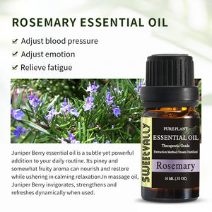 100% Pure Natural Rosemary Essential Oil (10ml/30ml)