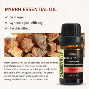100% Pure Natural Myrrh Essential Oil 0.33 OZ(10ml)