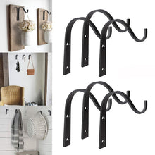 Load image into Gallery viewer, 10pcs Iron Hanger Wall Hooks