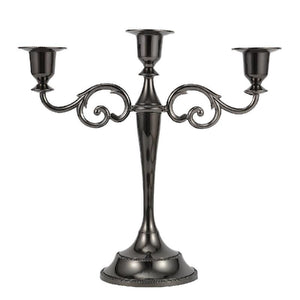 3-Arms Metal Candelabra