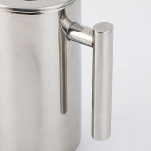 French Press Double-Wall Mirror Finish Coffee Pot