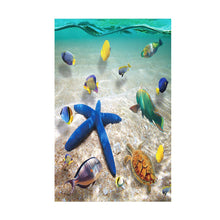 Load image into Gallery viewer, 3D Starfish Floor Wall Sticker Removable