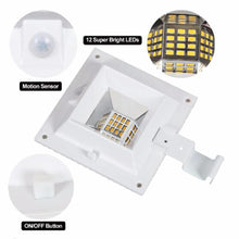 Load image into Gallery viewer, 2Pcs/Set 12LEDs PIR Motion Sensor Wall Lamps