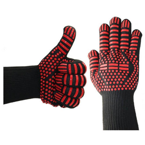 Silicone Heat Resistant Cooking Oven Gloves