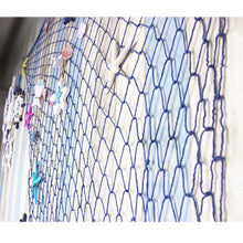 Load image into Gallery viewer, Blue/White Mediterranean Style Decorative Fish Net